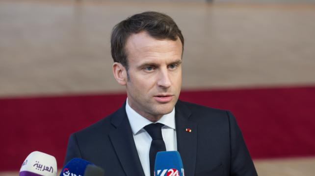 Президент Франції Еммануель Макрон заразився коронавірусом
