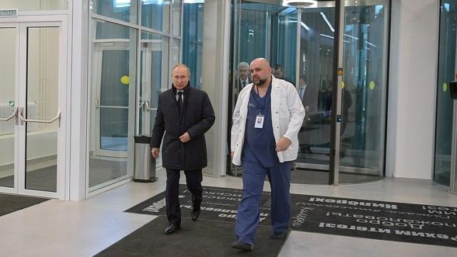 Зустрічався з Путіним і тиснув руку: у головлікаря Дениса Проценка коронавірус