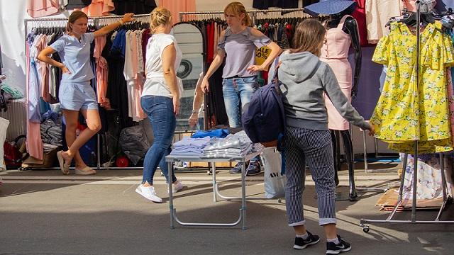 На ринку Троєщина у Києві спалах коронавірусу