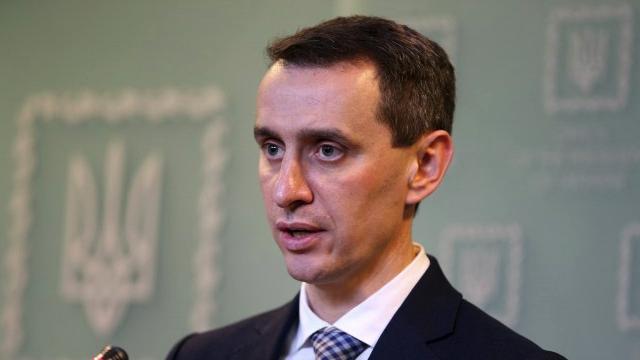 Головний санлікар України Ляшко вакцинувався від коронавірусу