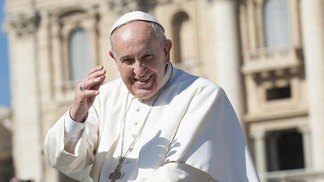 Щеплення – акт любові. Папа Римський закликав вірян вакцинуватися від Covid-19