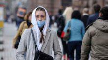 Карантин, люди в масках