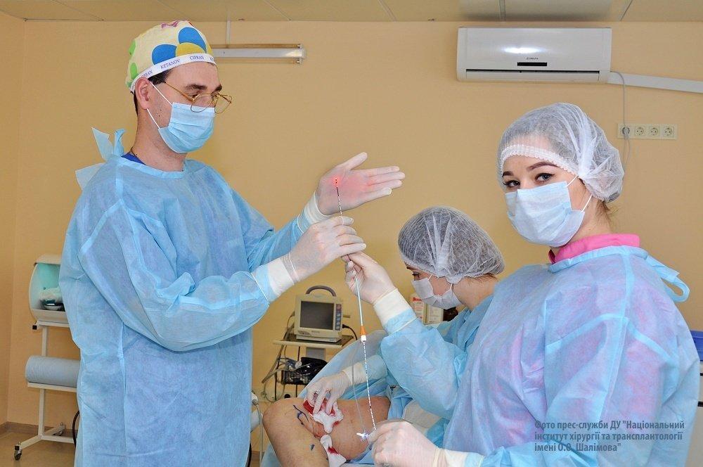 операция по удалению варикоза