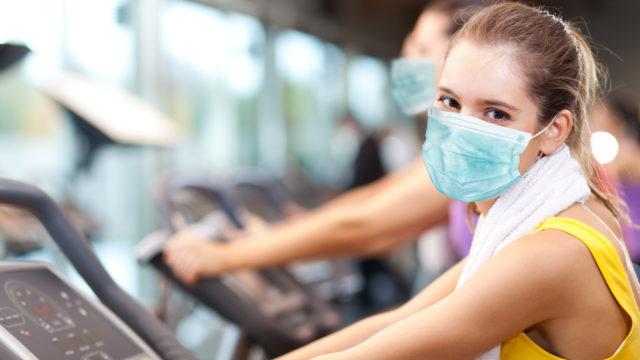 Кому потрібні маски в спортзалі – дослідження