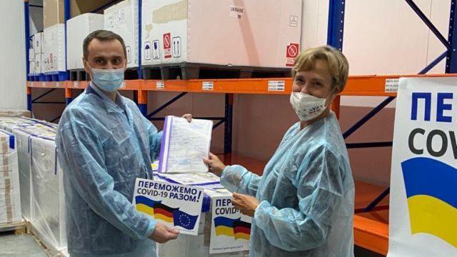 Німеччина передала Україні 1,5 млн доз Covid-вакцини