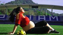 вагітність спорт