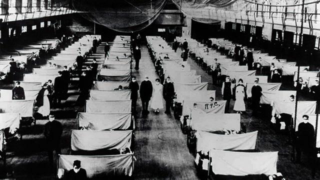 испанка, пандемия