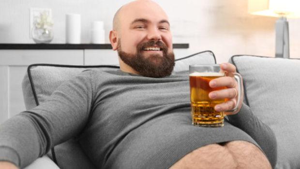 как убрать пивной живот, пиво, ожирение