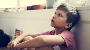 депресія, діти